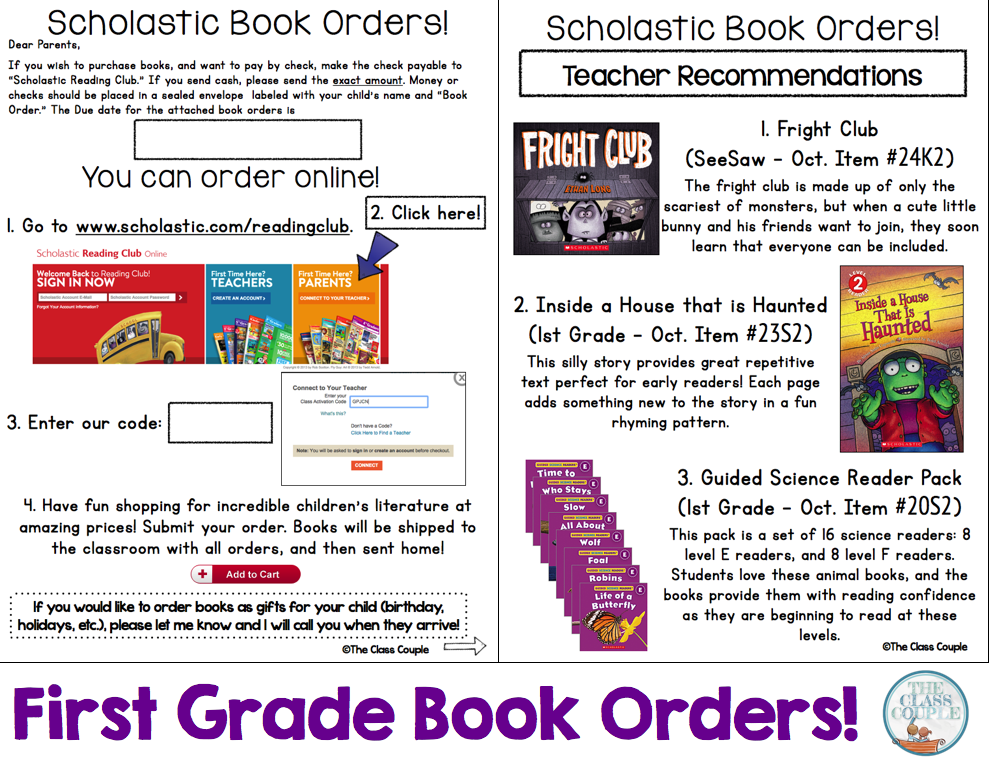 Category Scholastic Book Orders