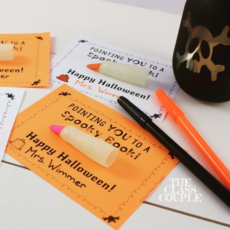 Does your school have a no food or candy policy? These Halloween Gift Tags are a fun and creative way to treat your students!